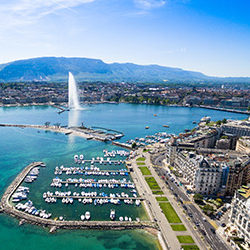 Lyon, Geneve, Megeve, Courchevel